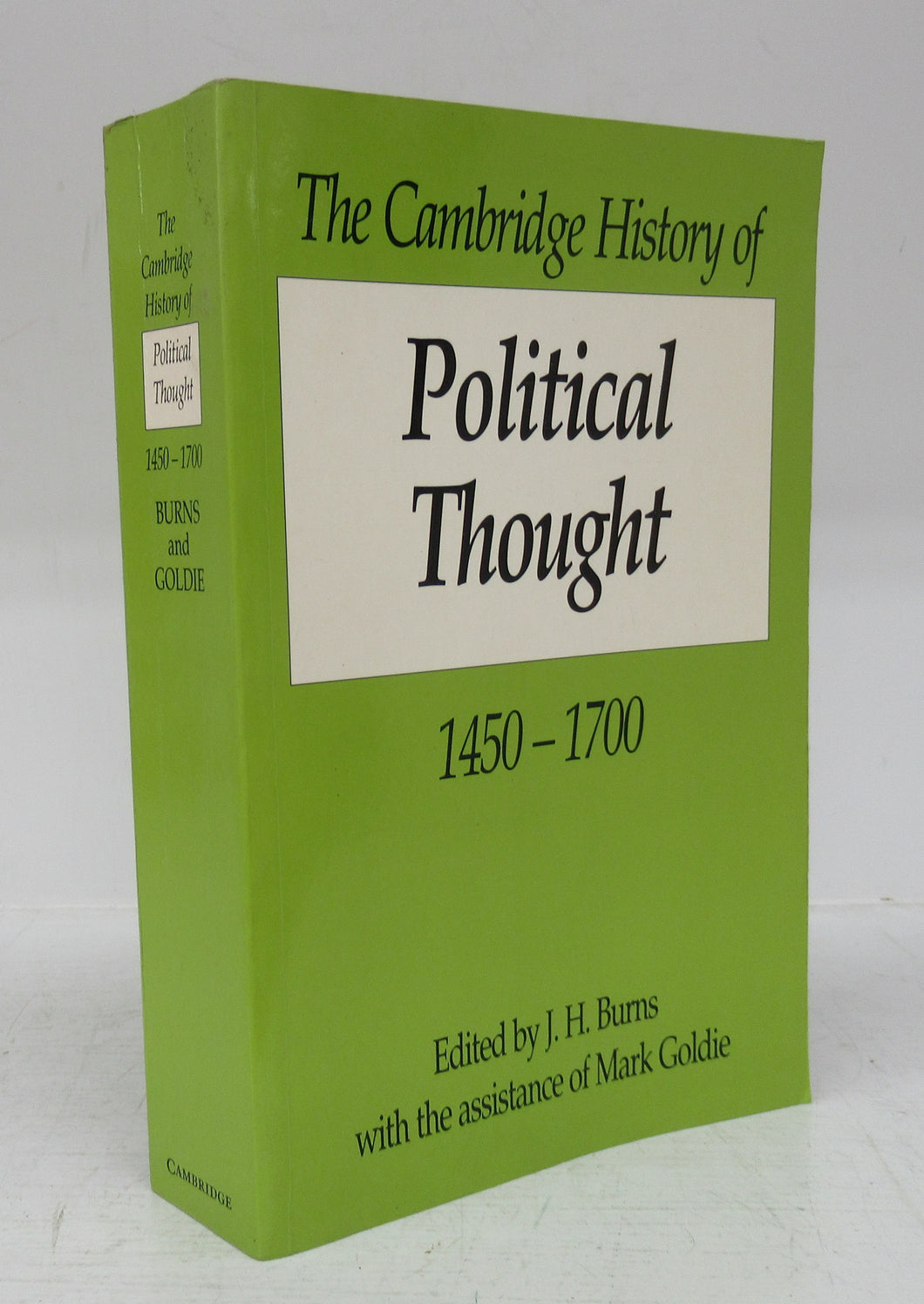 The Cambridge History of Political Thought 1450-1700