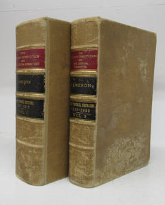 The Canadian Constitution as Interpreted by the Judicial Committee of the Privy Council in its Judgments. Together with a Collection of all the Decisions of the Judicial Committee which Deal Therewith. Vol. I: 1867-1915. Vol. 2: 1916-1929