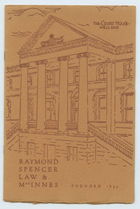 Raymond, Spencer, Law & MacInnes, Founded 1835