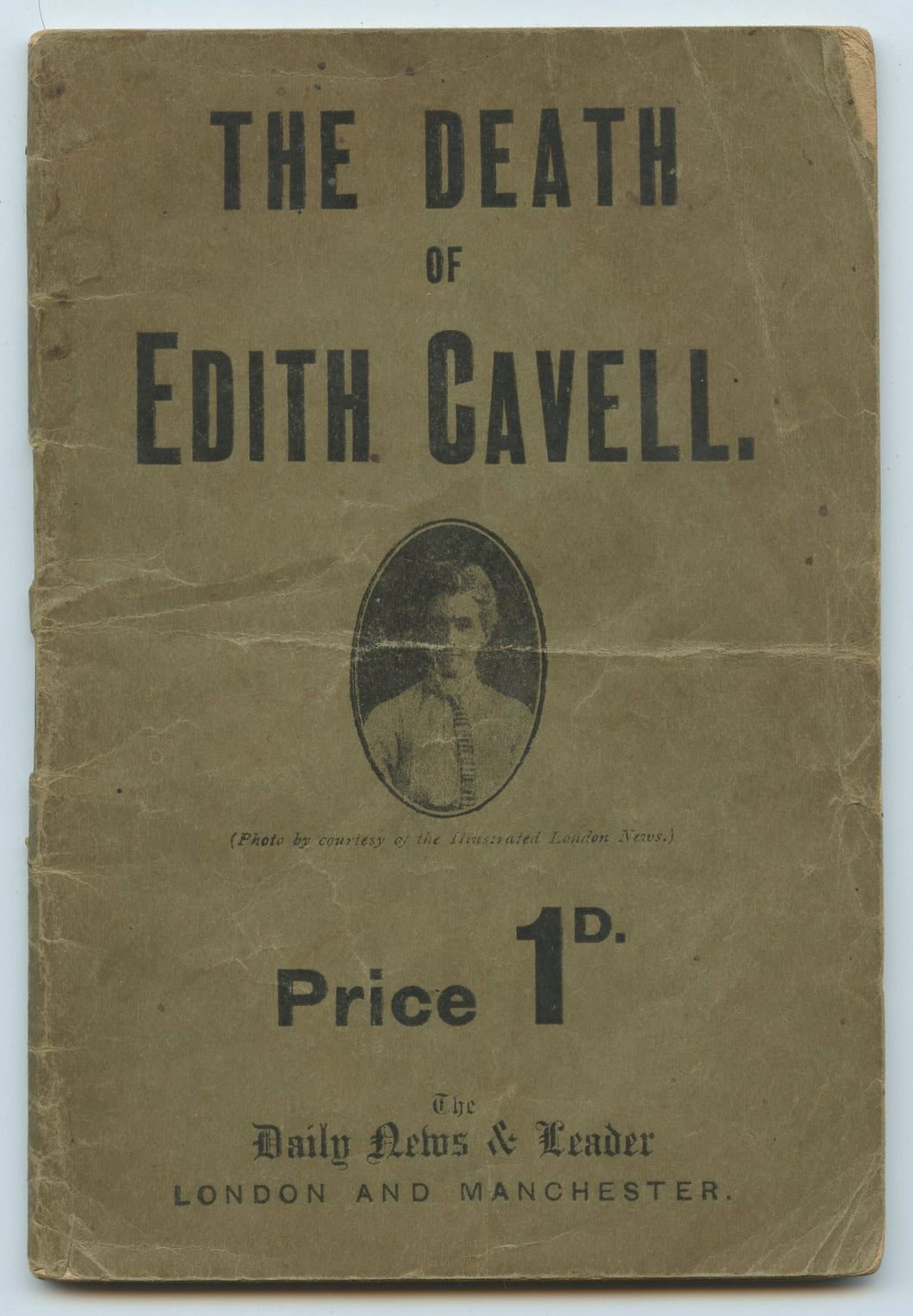 The Death of Edith Cavell