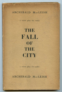 The Fall of the City: a verse play for radio