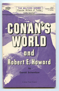 Conan's World and Robert E. Howard