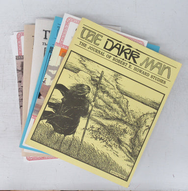 The Dark Man: The Journal of Robert E. Howard Studies. Issues I - 8