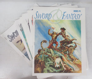 Sword & Fantasy Issues 1-9