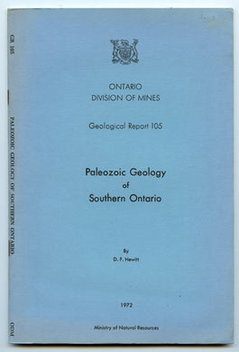 Paleozoic Geology of Southern Ontario