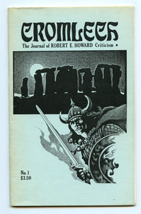 Cromlech: The Journal of Robert E. Howard Criticism.  Spring 1985