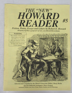 "The ""New"" Howard Reader #5, March 1999"