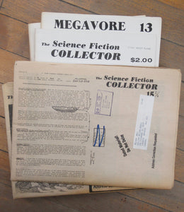 The Science-Fiction Collector 1976-80, 1981 & Megavore: The Journal of Popular Fiction 1981