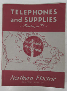 Northern Electric Telephones and Supplies catalogue