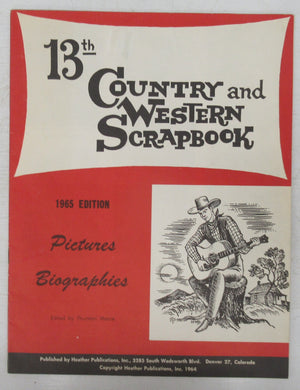 13th Country and Western Scrapbook