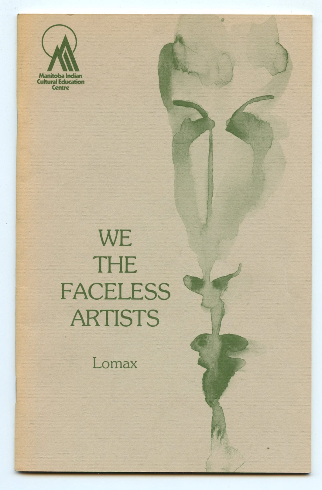 We The Faceless Artists - Attic Books