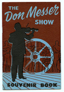 The Don Messer Show Souvenir  Book
