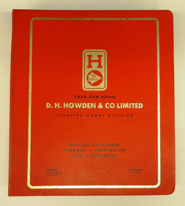Howden's Sporting Goods gun catalogue