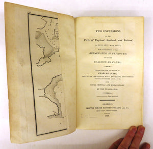 Two Excursions to the Ports of England, Scotland, and Ireland, in 1816, 1817, and 1818