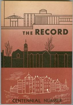 The Record, April 1965. Vol. 68, No. 2.