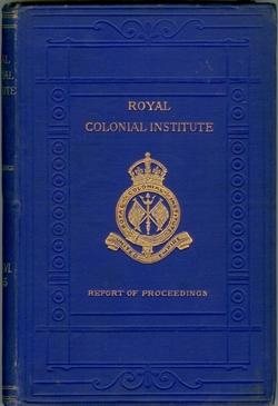 Proceedings of the Royal Colonial Institute. Volume XXVI 1894-95.
