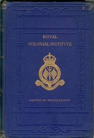 Proceedings of the Royal Colonial Institute. Volume XXII, 1890-91.