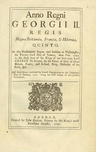 Anno quinto Georgii II. Regis. An Act to prevent the Exportation of Hats out of any of His Majesty's Colonies or Plantations in America, and to restrain the Number of Apprentices taken by the Hat-makers of the said Colonies or Plantations