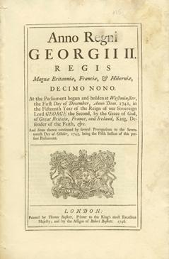 An Act for the better Encouragement of the Trade of His Majefty's Sugar Colonies in America