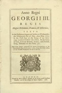 An Act to amend and render more effectual, in His Majesty's Dominions in America, an Act past in this present Session of Parliament