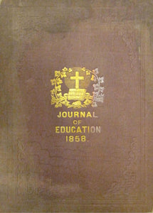 The Journal of Education For Lower Canada