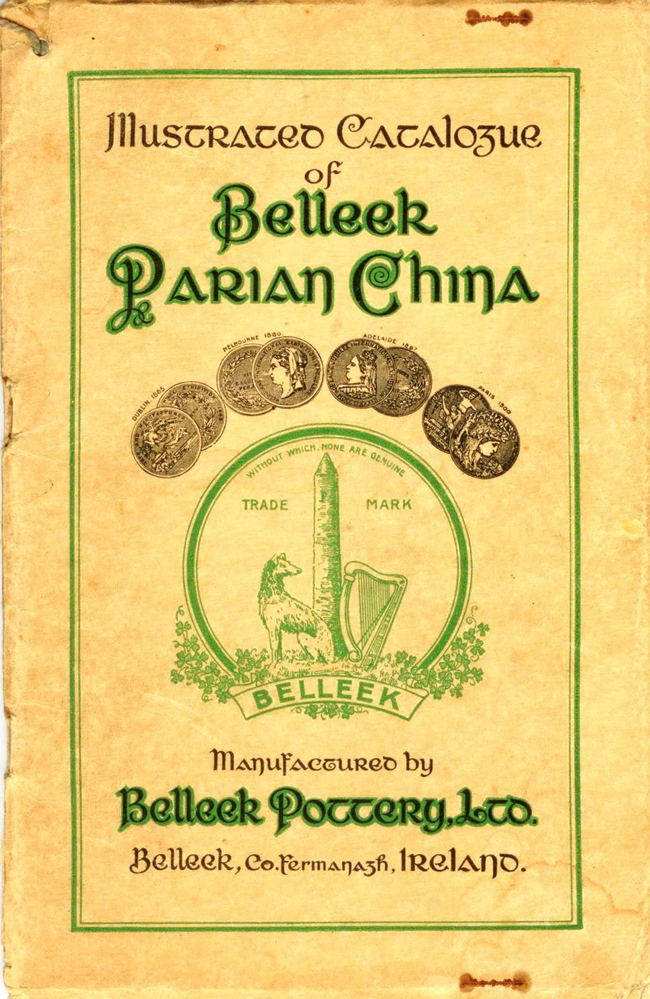 Illustrated Catalogue of Belleek Parian China