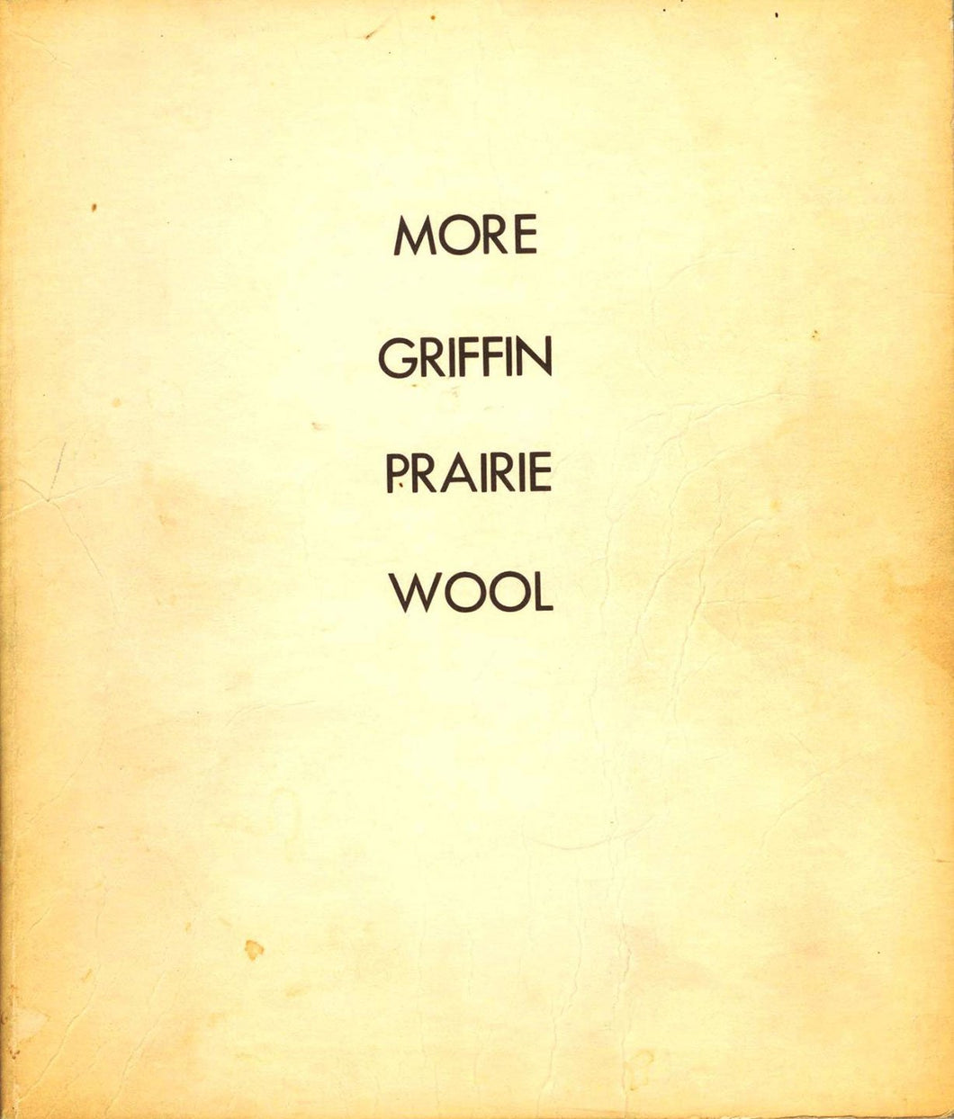 More Griffin Prairie Wool
