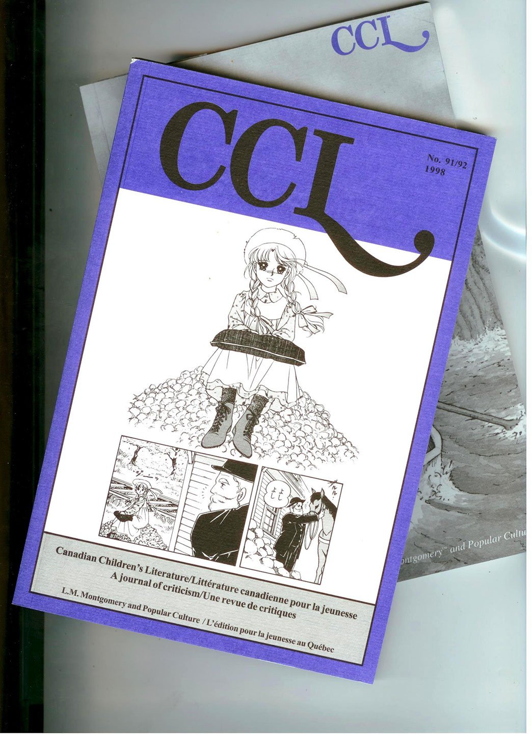 Canadian Children's Literature: A journal of criticism: L. M. Montgomery and Popular Culture Parts I and II