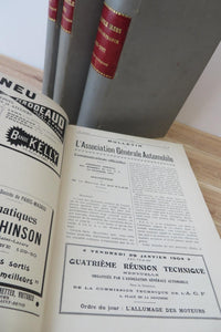 L'Automobile-Club de France bulletins 1904-07