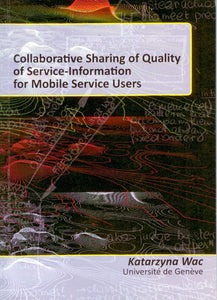 Collaborative Sharing of Quality of Service-Information for Mobile Service Users