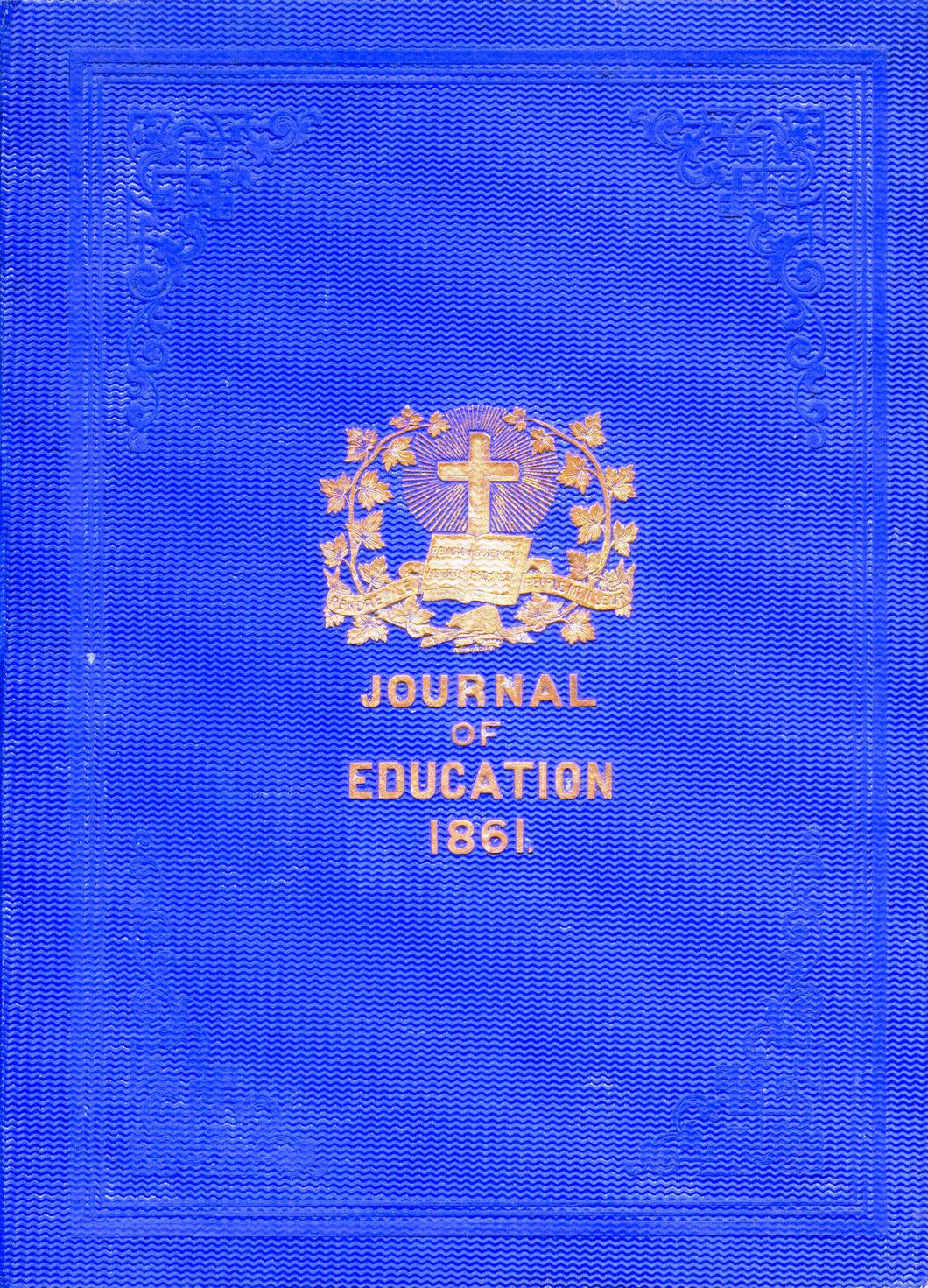 The Journal of Education For Lower Canada. Fifth Volume.