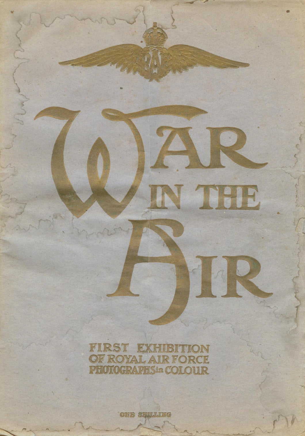 War in the Air: First Exhibition of Royal Air Force Photographs in Colour