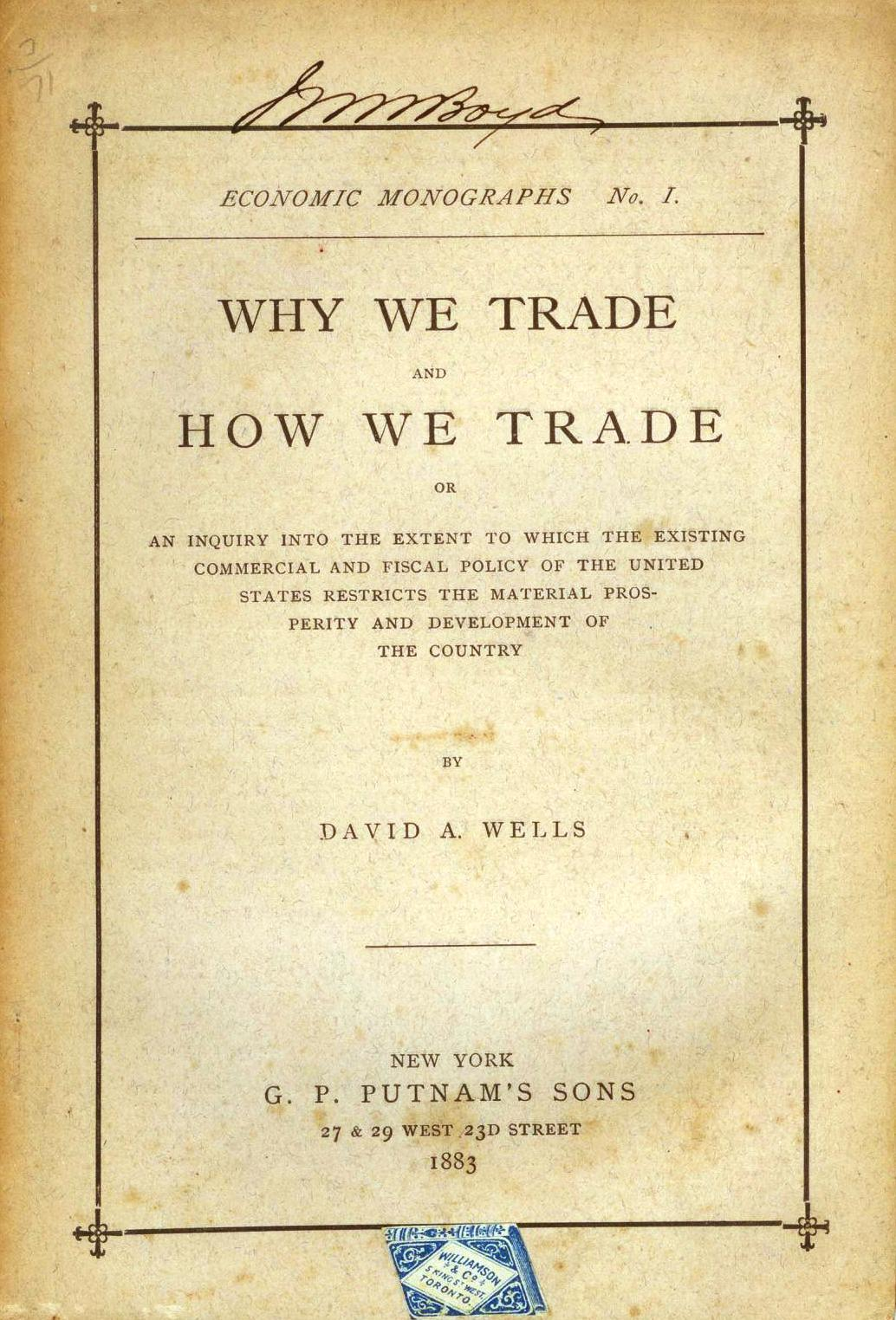 Why We Trade and How We Trade