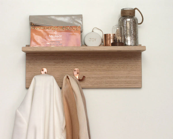 Entryway Organiser | Coat Rack | Key Holder | Wall Organiser with Hooks