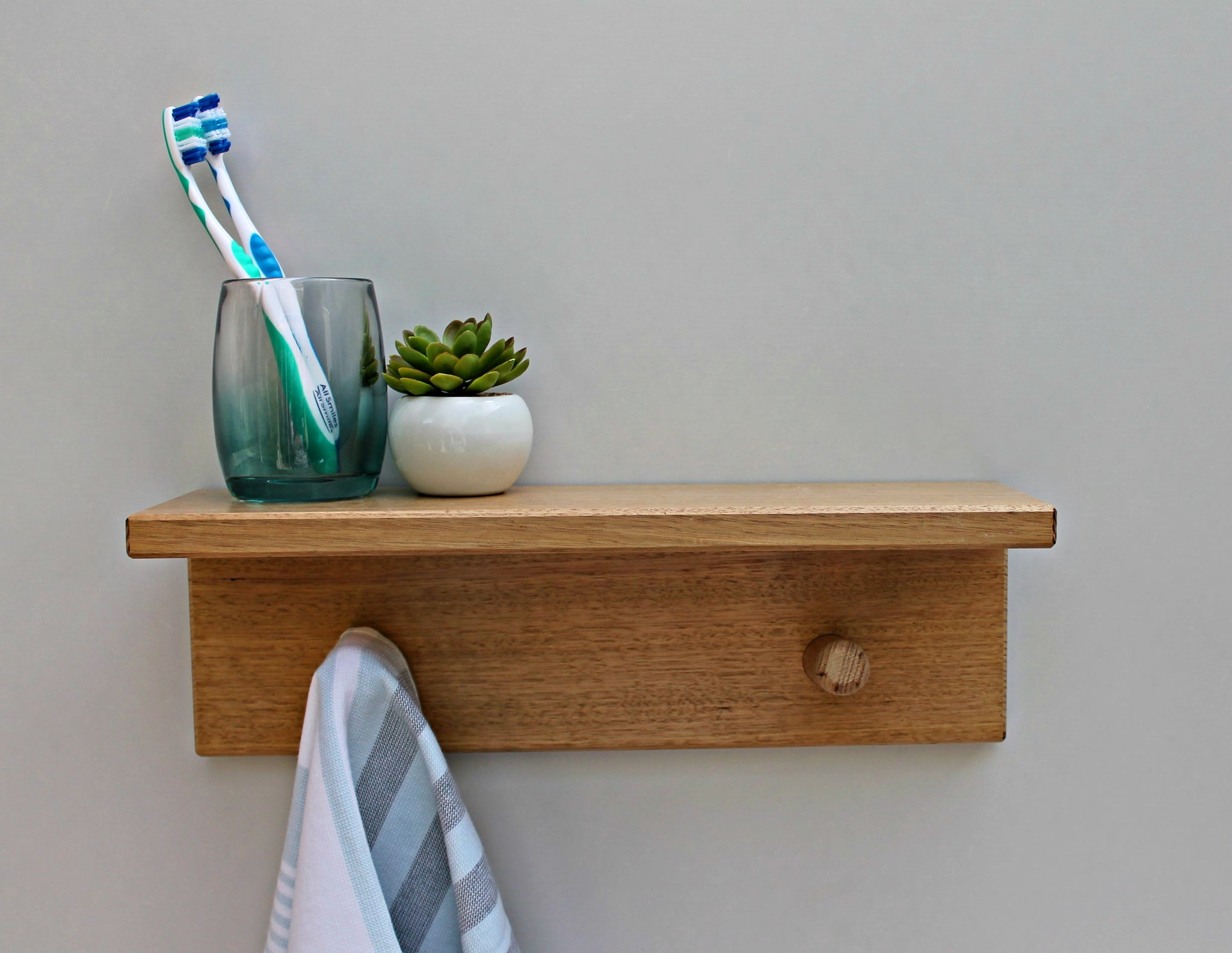 Floating Bathroom Shelf