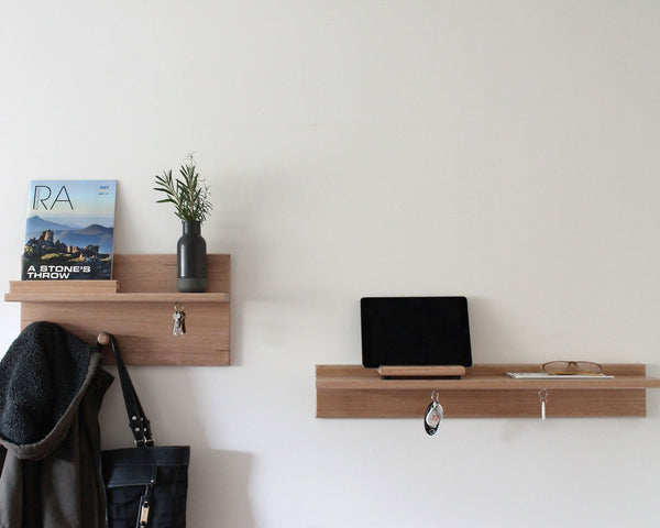 Entryway Organiser | Coat Rack | Floating Shelf | Key Holder | Wall Organiser