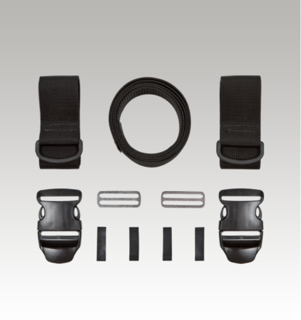 XDEEP SIDEMOUNT QUICK RELEASE BUCKLE KIT FOR STEALTH 2.0