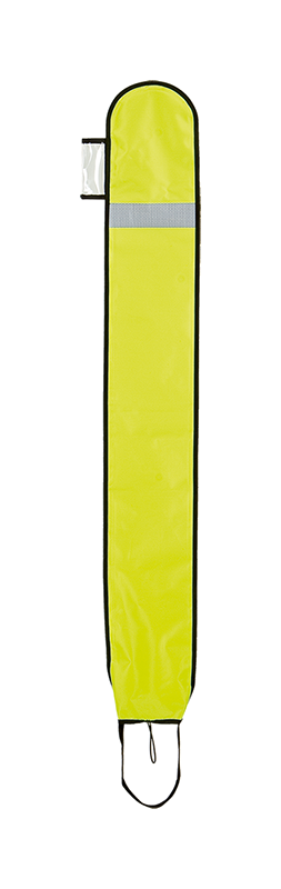 XDEEP Signal Buoy Opened simple DSMB Bright Yellow 140 cm long
