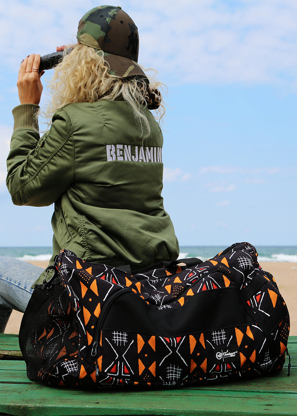 Bogolanfini Duffle (Gym/Travel)