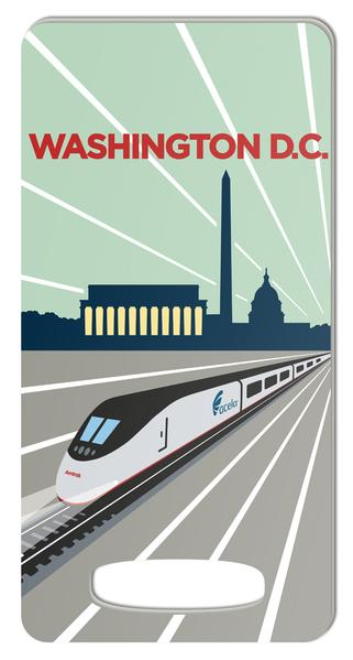Amtrak Luggage Tags