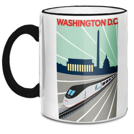 Amtrak Mugs