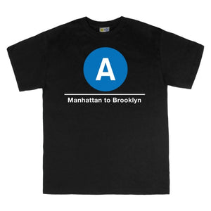 A (Manhattan to Brooklyn) T-Shirt