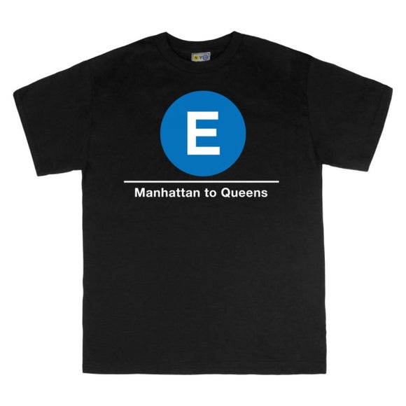 E (Manhattan to Queens) T-Shirt