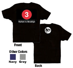 #3 (Harlem to Brooklyn) Youth T-Shirt