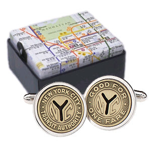 Tokens Cuff Links (Silver-Plated)