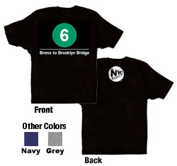 #6 (Bronx to Brooklyn Bridge) Youth T-Shirt