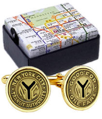 Tokens Cuff Links (Gold-Plated)