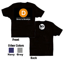 D (Bronx to Brooklyn) Youth T-Shirt