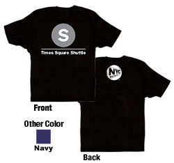 S (Times Square Shuttle) Youth T-Shirt