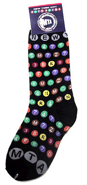 Subway Bullets Socks